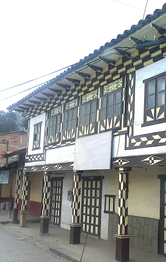 sierra, pueblo, vivienda, ecuador