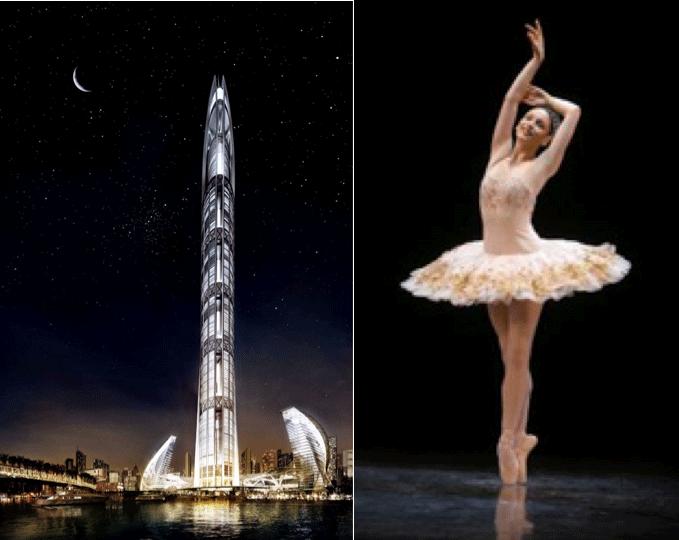 Torre Nakheel, Dubai, architecture, arquitectura, danza, arquitecto, architect, inspiration, inspiracion, corporal, dance, arte, art, design, diseño, archidance, ballet, baile, ritmo, edificacion, edificio, construccion