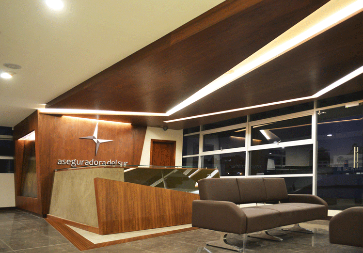 lobby,aseguradora,arquitectura,diseño,interior,resultados,aseguradoradelsur