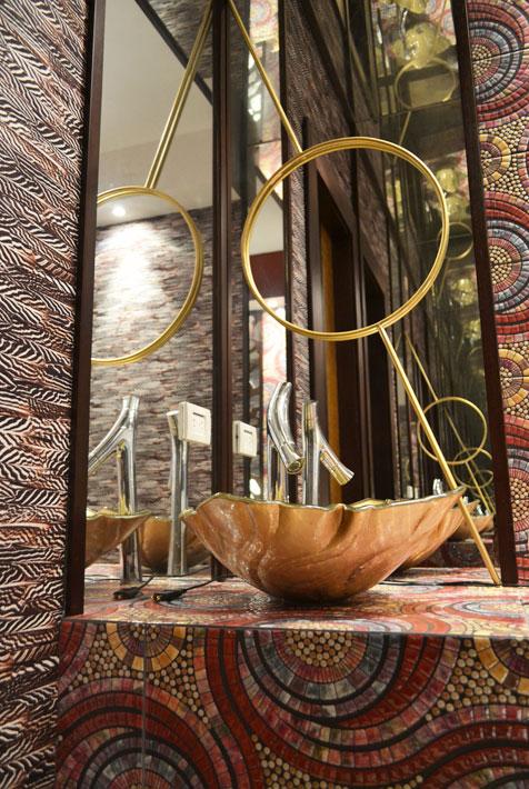residencia, etnico, africano, arboles, ramas, nativos, papel tapiz, collage