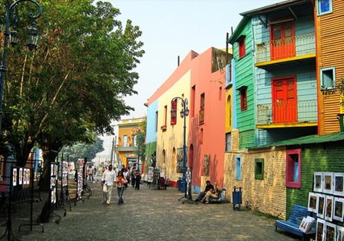 Caminito, Buenos Aires, Argentina