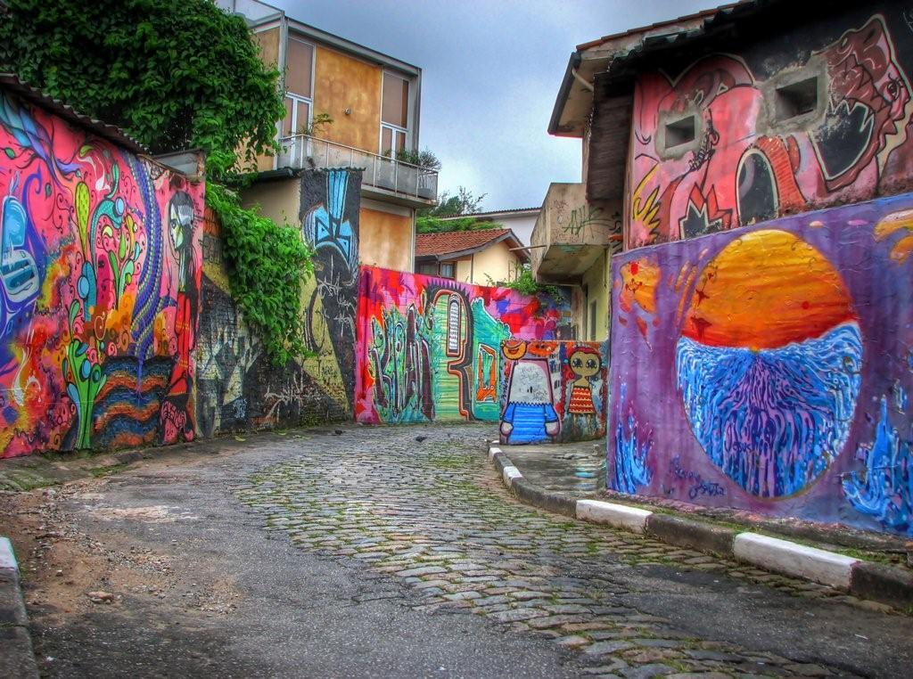 Vila Madalena, Sao Paolo, Brazil
