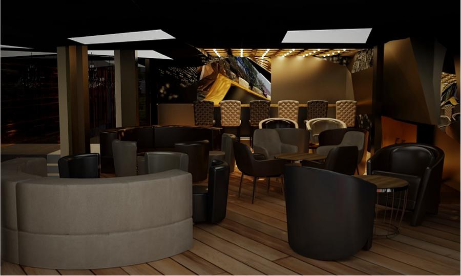 Emporio Lounge, glam, luxury