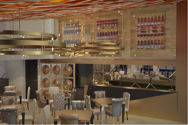 Emporio, Restaurante, bar, lounge, luxury, glam