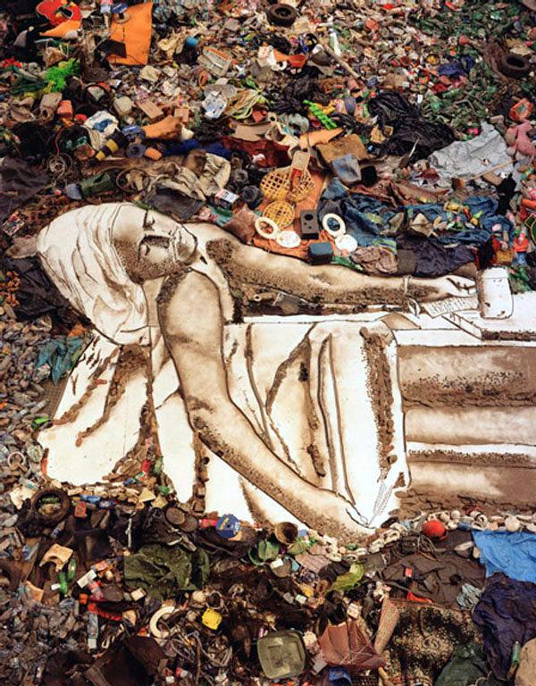 La Pieta, Desperdicios, Arte Contemporanea, Vik Muniz