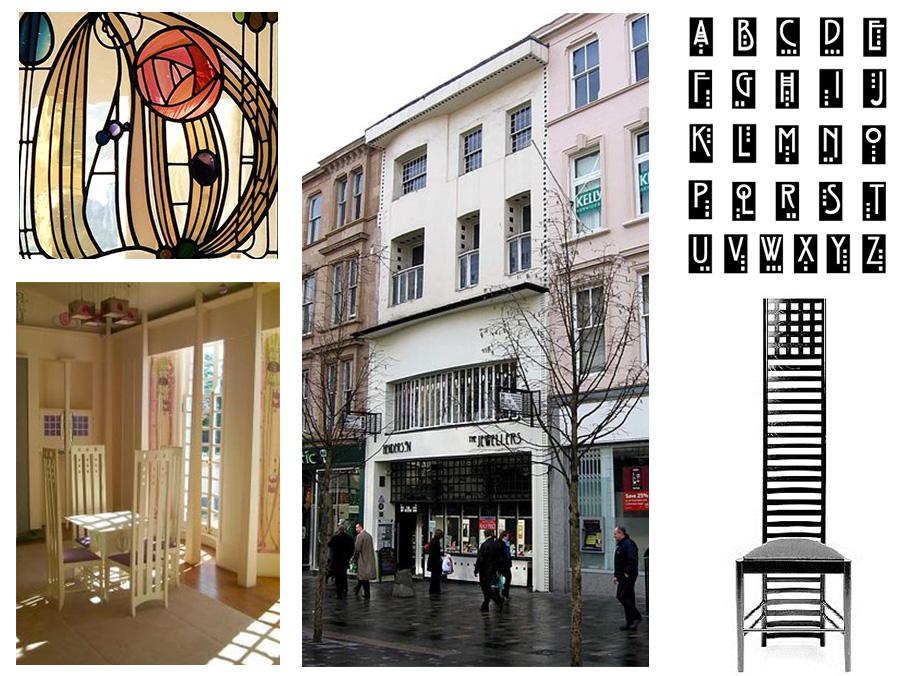 charles renne mackintosh, mackintosh, arquitecto, arquitectura, diseno de interiores, diseno industrial, diseno