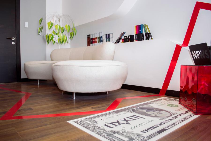 Living room, Departamento modelo, Luxxo, Dinamica, moderno, ejecutivo, plusvalia, sala, arbol, planta, billete, alfombra
