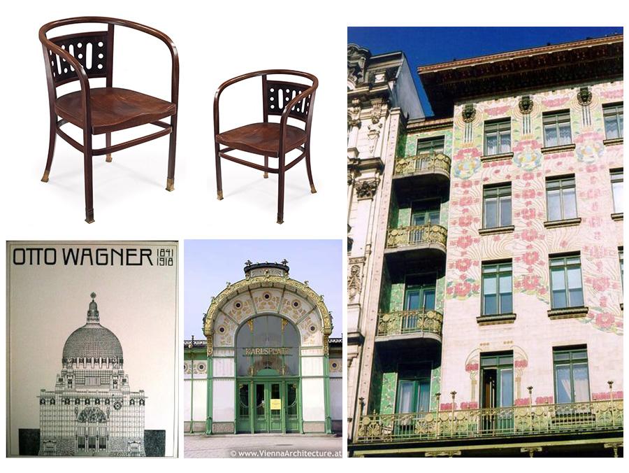 otto wagner, arquitecto, arquitectura, diseno de interiores, diseno industrial, diseno