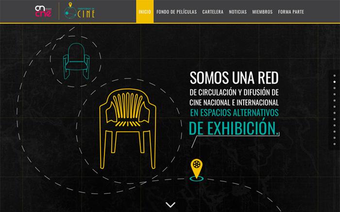 territorios de cine, web, diseño, diseño gráfico, cine, peliculas