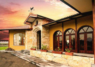 campestre, finca, residencial, diseño interior, diseño, interiors, interiores, eclectico, western, Lasso, Ecuador, fachada