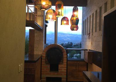 BBQ Rancho SF - Lámparas tejidas yute