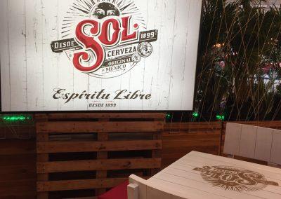 Rótulo Espiritu Libre - Cerveza Sol