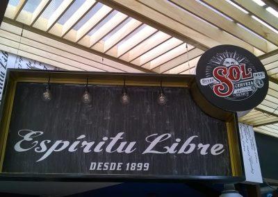 Sala lounge – Cerveza Sol