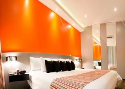 nu House Suite 504 dormitorio