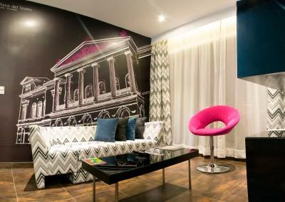 nu House Suite 505 sala1