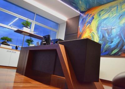 Presidencia Aseguradora del Sur Quito, escritorio