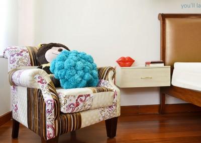 Dormitorio chica, moon, luna y patchwork, vintage