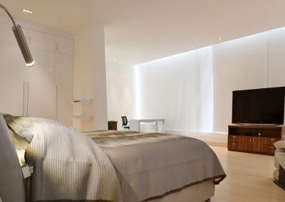 Dormitorio Master, residencia Tumbaco