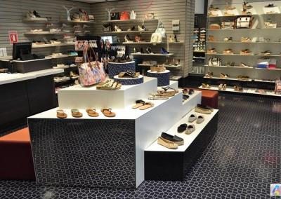 Zapatos, Mall el Jardín, Centro comercial, Call it Spring, Diseño interior