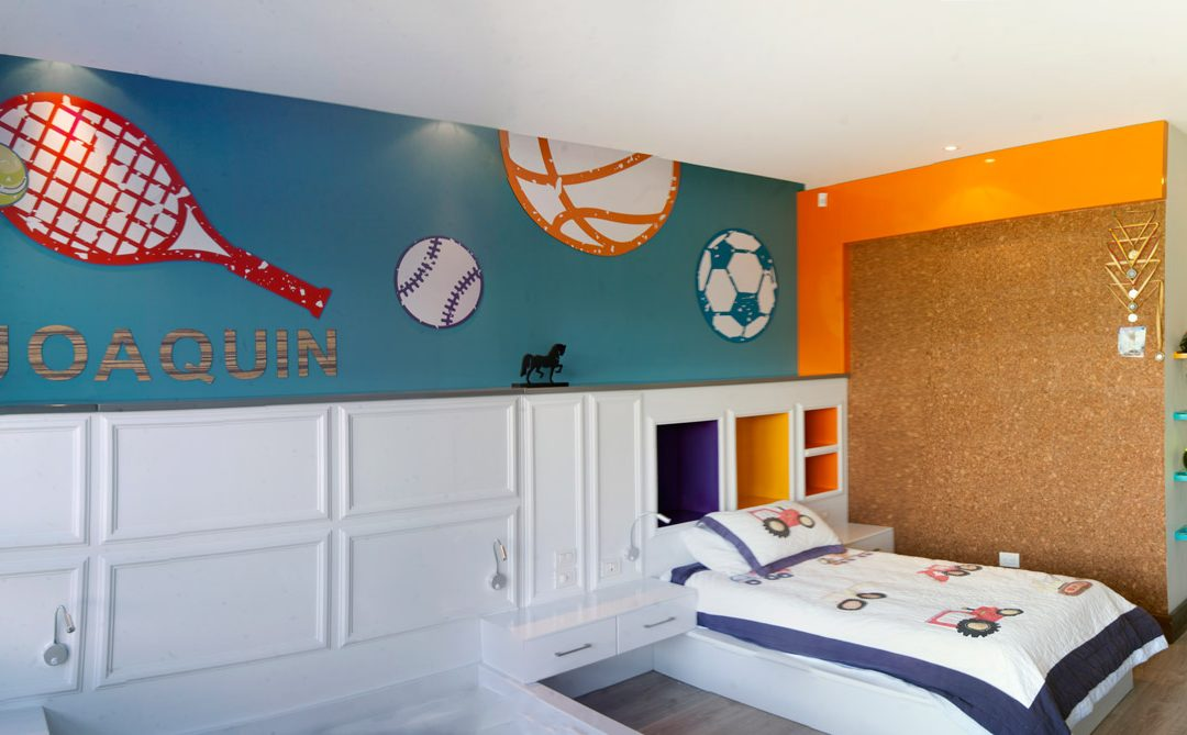 Dormitorio de Joaquín