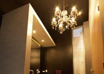 Baño, baño social, Casa, Residencial, Vivienda, Hogar, Eclectico, Eclectic, Interiores, Diseño de interiores, interiors, design, Cumbaya, Quito, Ecuador