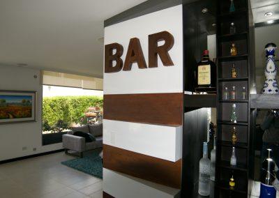 Diseño Bar Residencial – Cumbaya